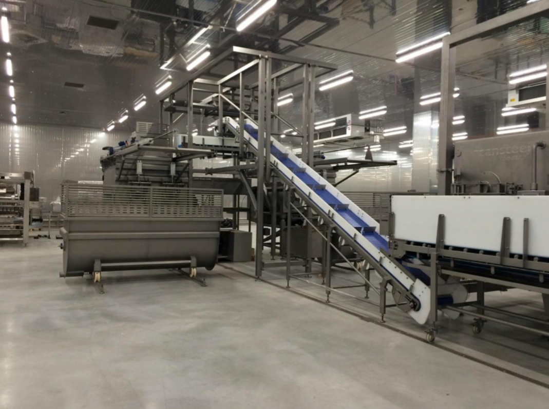 Pet Food Production Line Install