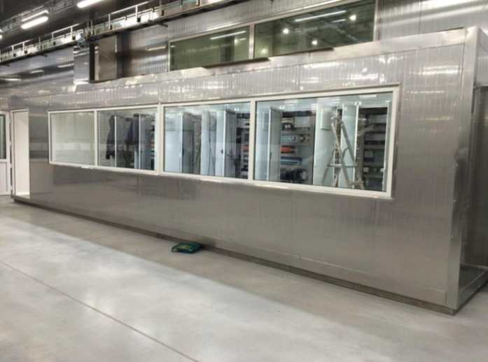 Pet Food Production Line Control Room Electrics