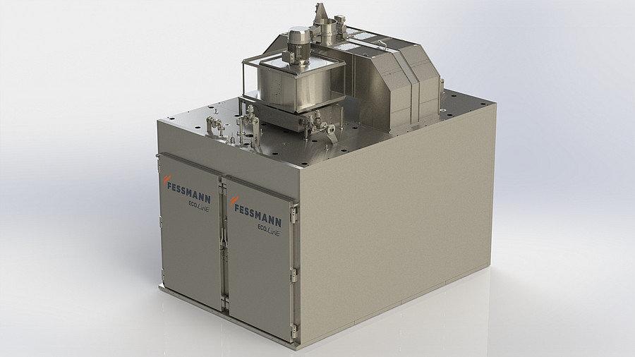 Fessmann Ti7000 - Universal Industrial Smokehouse