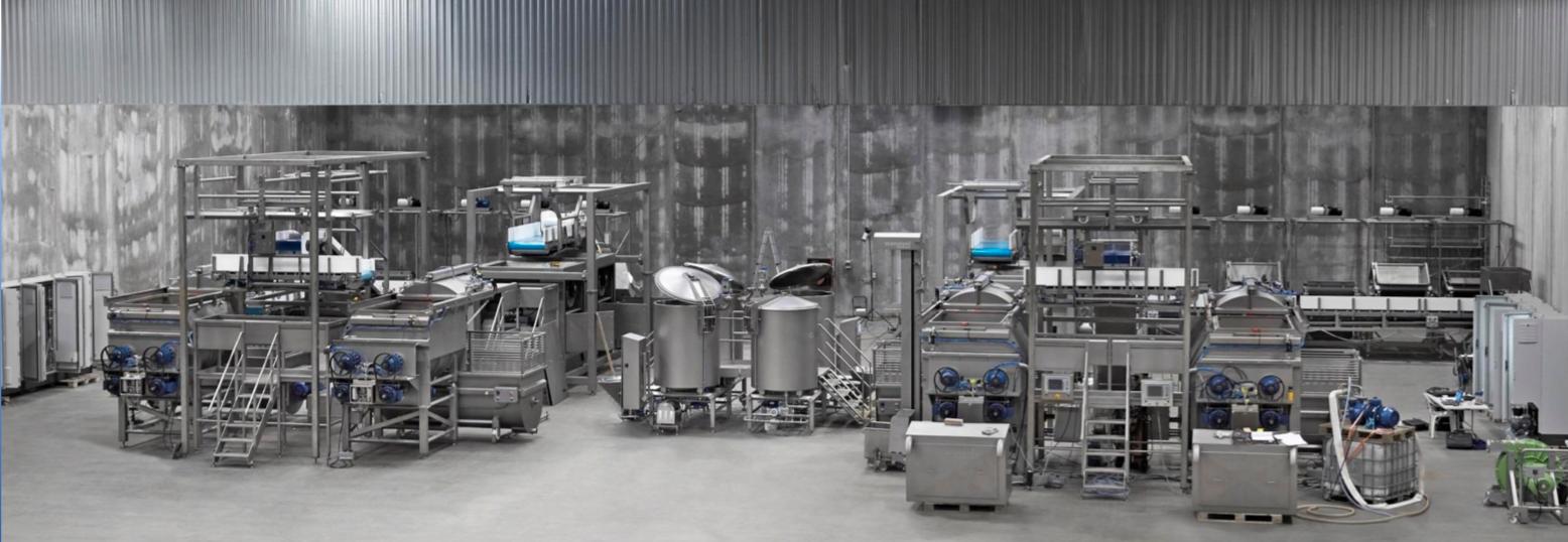 Pet Food Production Line Assembled