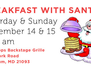 Breakfast with Santa at Hightopps