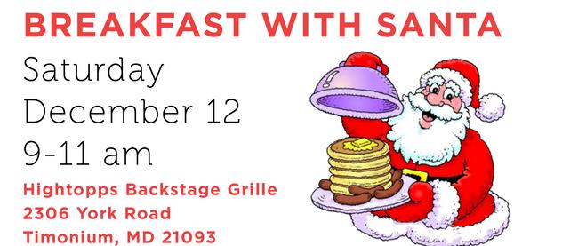 Breakfast with Santa at Hightopps
