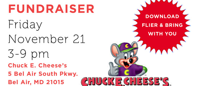 Fundraiser at Chuck E. Cheese's