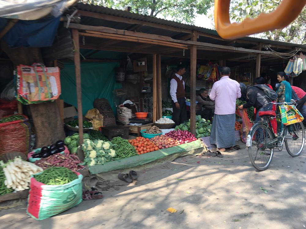 Market in Siliguri