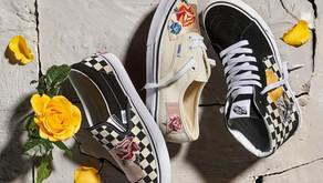 Vans usa patches florais e remendos em cetim para criar o seu mais novo pack de calçados
