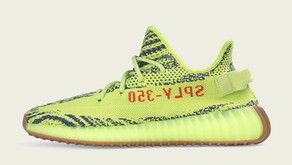 o adidas Yeezy Boost 350 V2 - Semi Frozen Yellow - volta às lojas neste mês