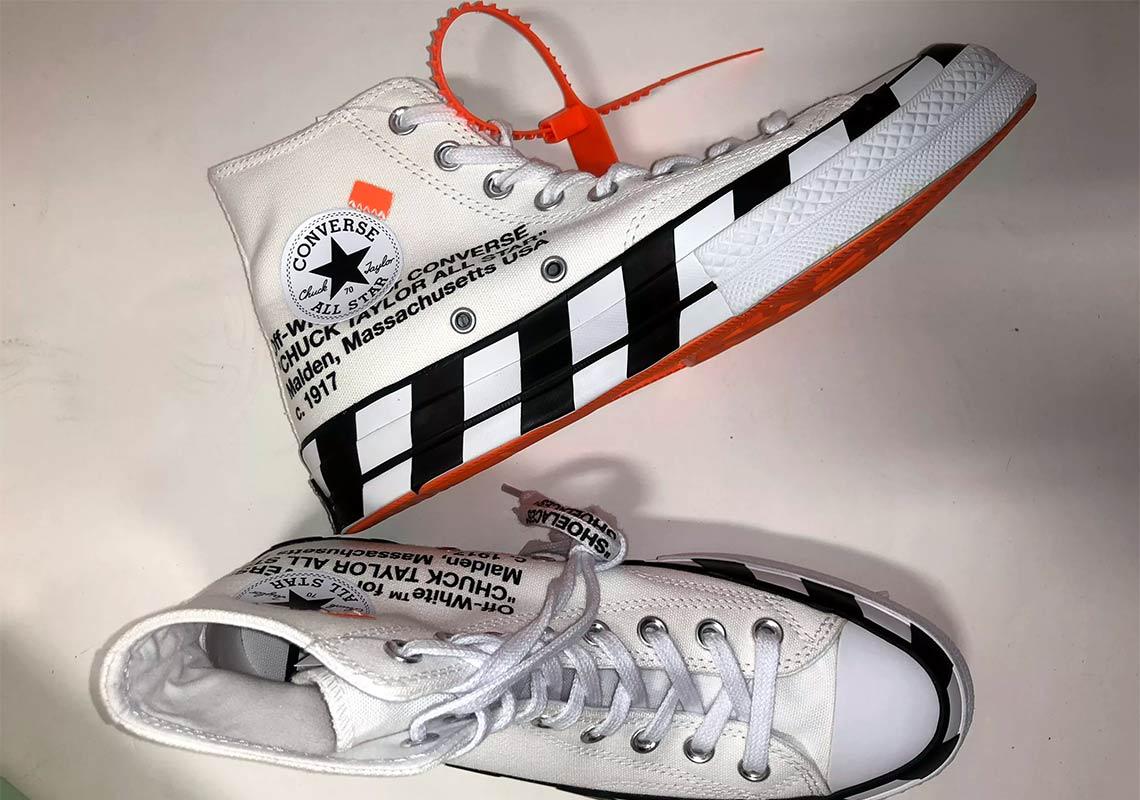 0124ac1ebdd Confira as informações de lançamento do novo Off-White x Converse Chuck  Taylor