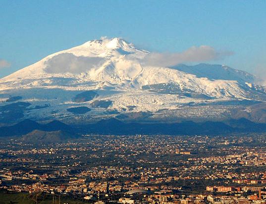 Mt. Etna watches over