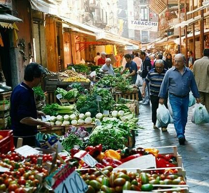The markets of Puglia