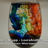 Swirling Colors in Water