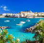 The Azure Blue Waters of Malta