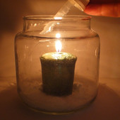 Candle Flame and Oxygen!