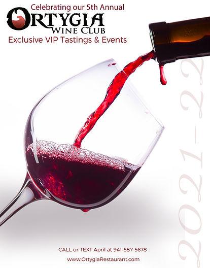 Ortygia Wine Club 2021 22