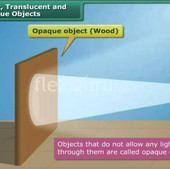Transparent, Translucent and Opaque Objects
