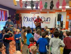 Musical Fun with Mr Hyson