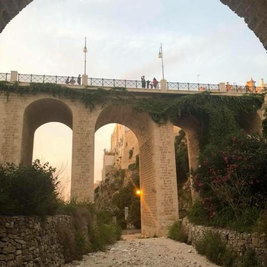 Archways in Puglia