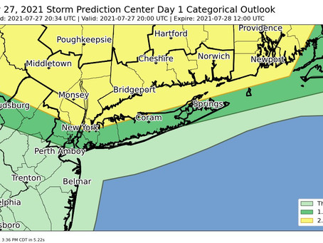 Upgraded severe thunderstorm threat for tonight!