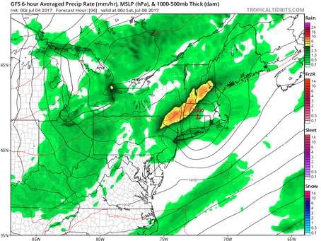 4th of July, Long Island Weather For This Week, and the Potential For Tropical Development.