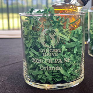 FICPA SF Golf 2020 Longest Drive Trophy.
