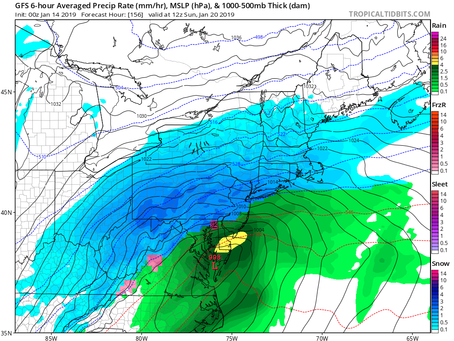 Big Snowstorm Coming for the Northeast This Weekend