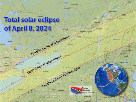 Total solar eclipse 3 years from today!