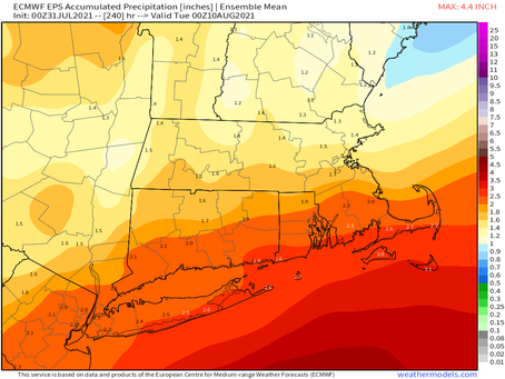 Beautiful today and then some uncertainty with coastal systems: