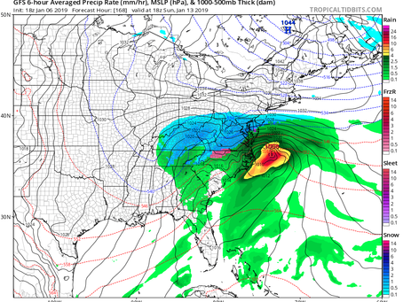 Cold Air Coming to Long Island With the Potential for Snow Next Weekend