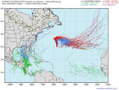 Potential For Hurricane Michael Next Week