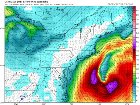 Strong Nor'Easter to Clip Long Island