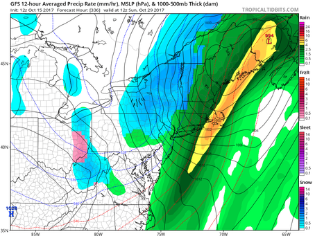 Great Stretch of Weather Coming for Long Island, but Potentially Stormy End of October