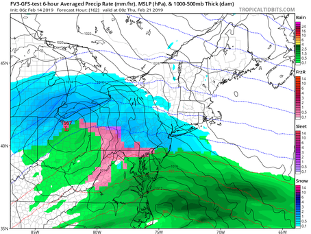 Potential For Snow Next Wednesday on Long Island
