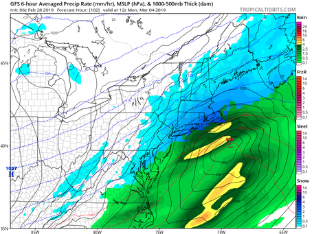Update on Potential Snow Events for Long Island and Surrounding Areas