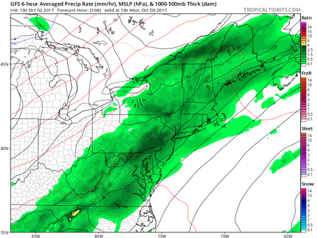 The Dry Weather for Long Island and the Northeast Will Be Coming to an End