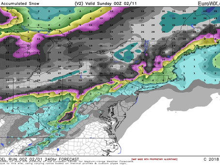 3 Storms in the Next 7 Days, but How Much Snow on Long Island?