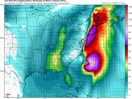 After Quiet Week for Long Island, Potential for 2 Storms Later This Month
