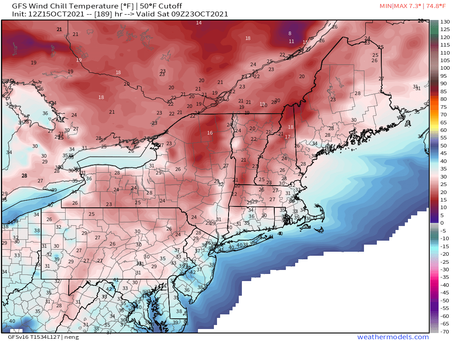 Another strong cold front next Friday night with another step-down in temps!