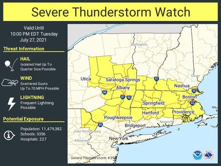 Severe Thunderstorm Watch: