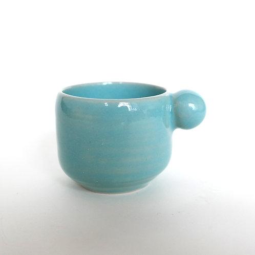 Espresso Cup bubble blue