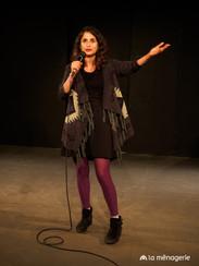 Carmen Chraim on Stage