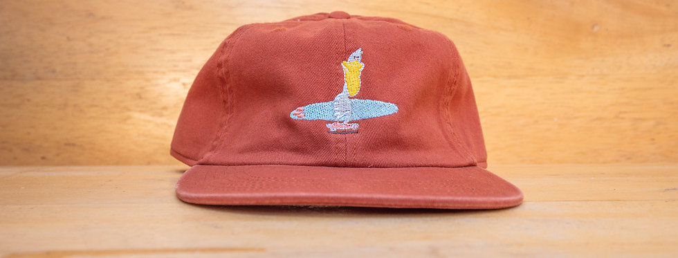 Pelican Skateboard Embroidered Hat