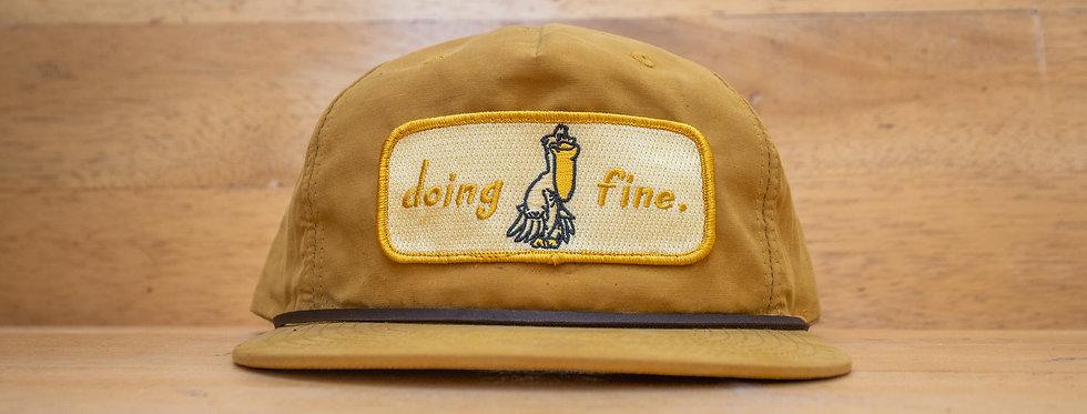 Doing Fine Patch Hat