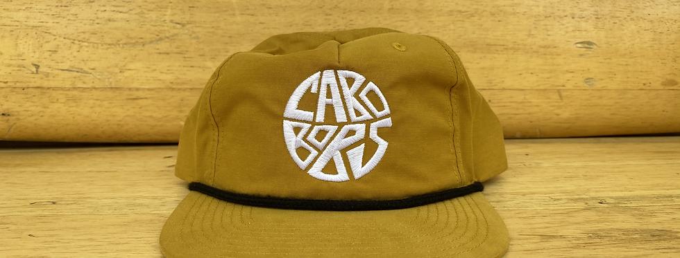 Embroidered Geometric Logo Hat