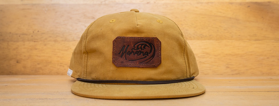 Leather Manana Patch Hats