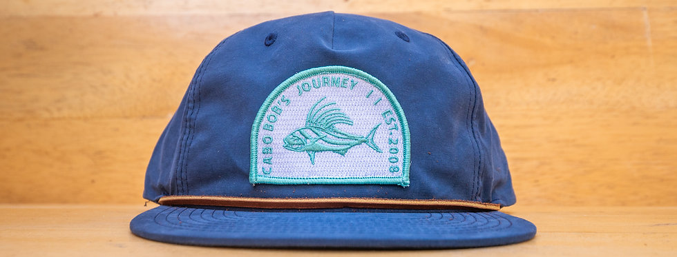 Rooster Fish Patch Hats