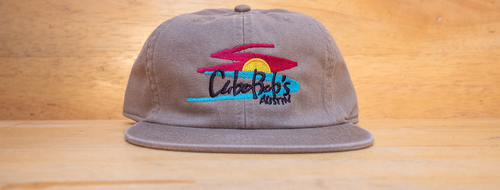 Sunset Embroidered Hat