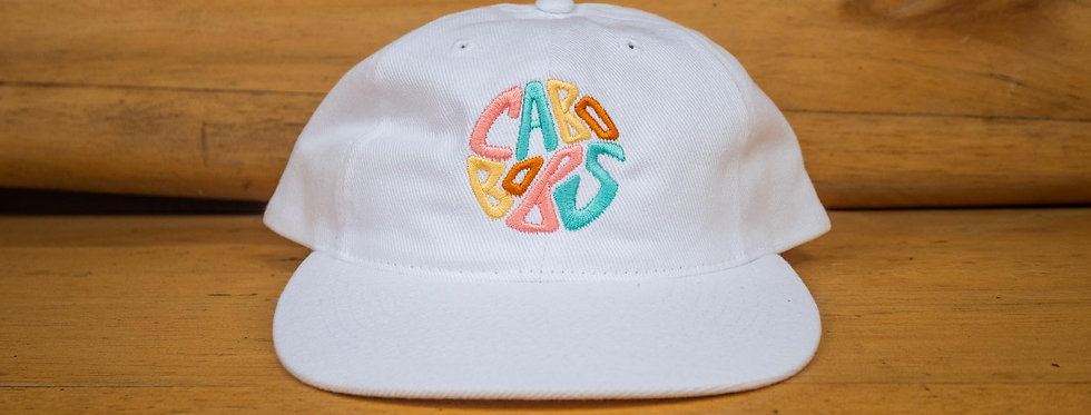 Multicolor Embroidered Logo Hat