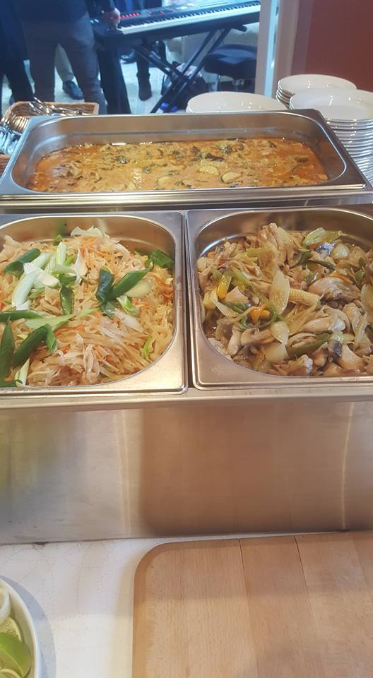 Pad Thai and Ginger Chicken
