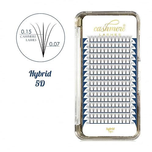 Cashmere Lashes Hybrid Fans 5D