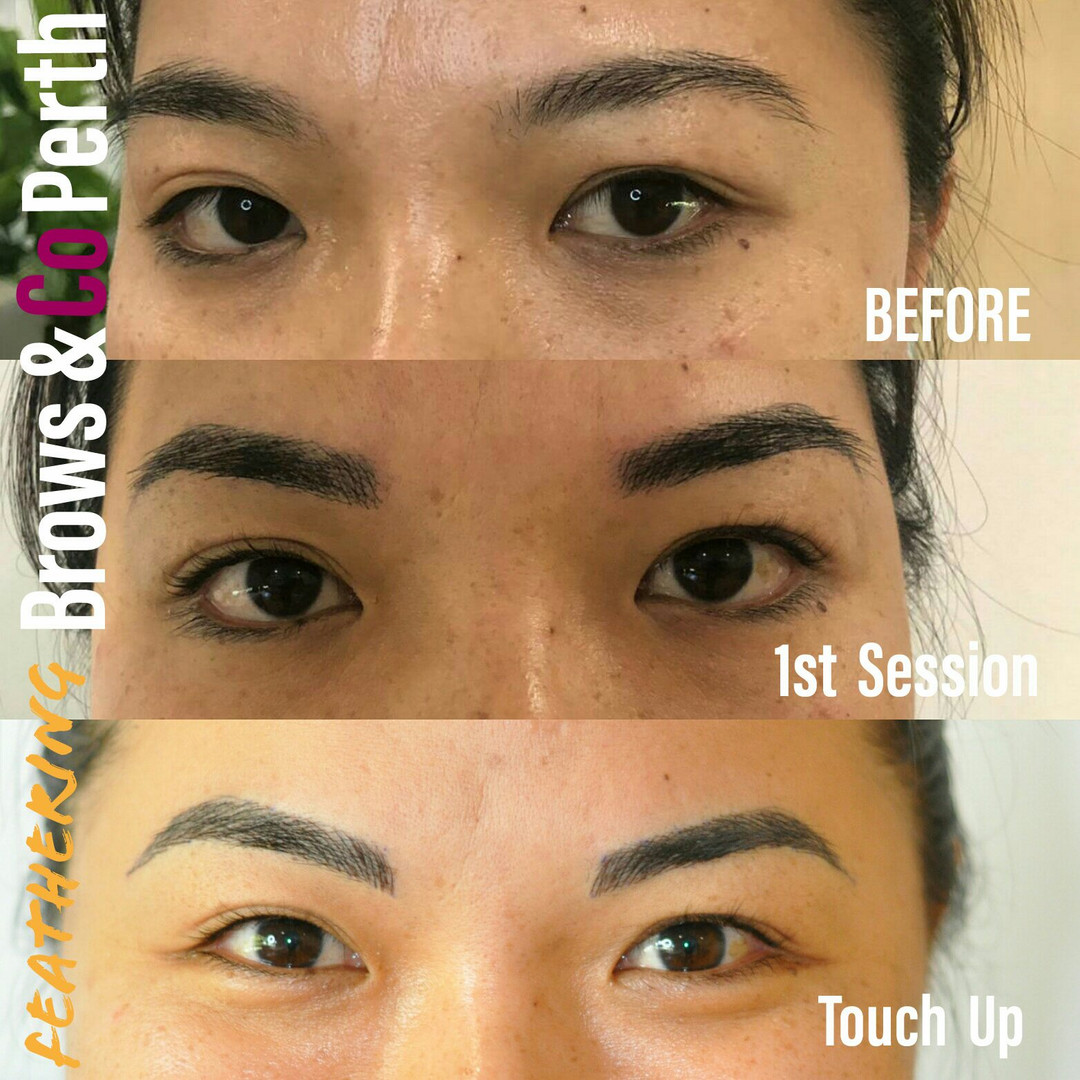 Brows and Co Perth - microblading touch