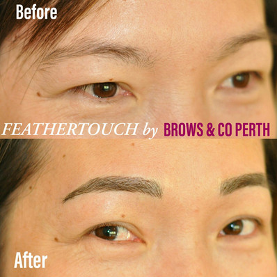 Brows and Co Perth - microblading tattoo